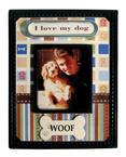 Scrapbook Magnet - Woof
