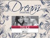 Hope Dream Inspire Decoupage